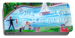 Love All Life Portable Battery Charger