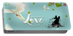 Love And Spring Portable Battery Charger