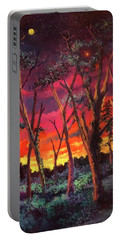Love And The Evening Star Portable Battery Charger