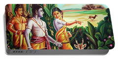 Love And Valour- Ramayana- The Divine Saga Portable Battery Charger