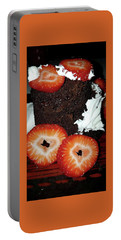 Portable Battery Charger featuring the photograph Love Berry Much by Kelly Reber