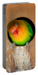 Love Bird Portable Battery Charger by Sean Griffin
