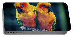 Portable Battery Charger featuring the photograph Love Birds by Chris Lord