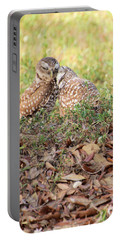 Portable Battery Charger featuring the photograph Love Birds by Rosalie Scanlon