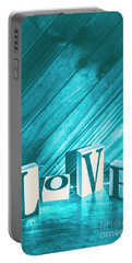 Love Blues Portable Battery Charger