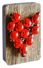 Love Bug Portable Battery Charger by Jorgo Photography - Wall Art Gallery