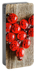 Love Bug Portable Battery Charger