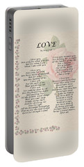 Love By Roy Croft Portable Battery Charger
