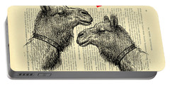 Love Camels Portable Battery Charger