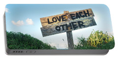 Love Each Other Portable Battery Charger