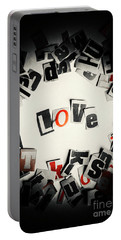 Love In Letters Portable Battery Charger