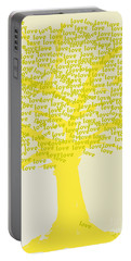 Love Inspiration Tree Portable Battery Charger by Go Van Kampen