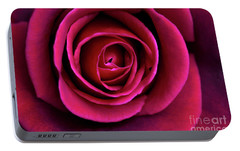 Portable Battery Charger featuring the photograph Love Is A Rose by Linda Lees