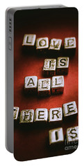 Love Is All There Is Portable Battery Charger