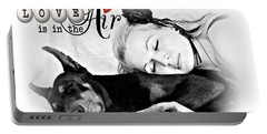 Love Is In The Air Portable Battery Charger