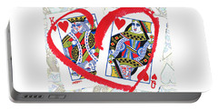 Love Is In The Cards Portable Battery Charger