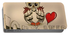 Love Is Owl You Need Portable Battery Charger