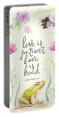 Love Is Patient Portable Battery Charger