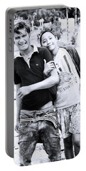 Portable Battery Charger featuring the photograph Love Is Us  by Jez C Self