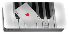 Love Notes Portable Battery Charger by Don Spenner