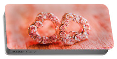 Love Of Crystals Portable Battery Charger by Jorgo Photography - Wall Art Gallery