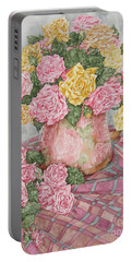 Love Of Roses Portable Battery Charger
