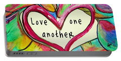 Love One Another John 13 34 Portable Battery Charger