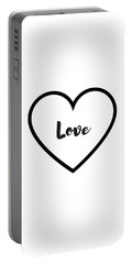 Love Portable Battery Charger