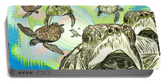 'love Sea Turtles Portable Battery Charger