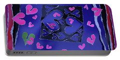 Love Soul Love Skeloton And The Subject Of Life Portable Battery Charger