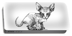 Love Sphynx Portable Battery Charger