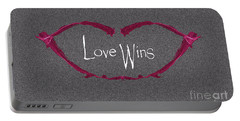 Love Wins Portable Battery Charger