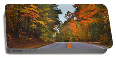Lovely Autumn Trees Portable Battery Charger