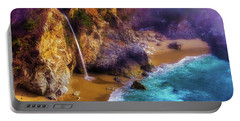 Lovely Big Sur Falls Portable Battery Charger