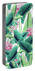 Lovely Botanical Portable Battery Charger