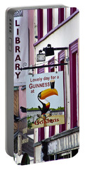 Lovely Day For A Guinness Macroom Ireland Portable Battery Charger