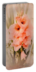Lovely Gladiolus Portable Battery Charger