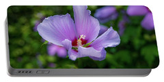 Lovely Hibiscus Portable Battery Charger