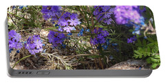 Lovely Lavender Portable Battery Charger