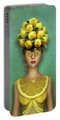 Lovely Lemon Portable Battery Charger