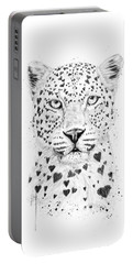 Lovely Leopard Portable Battery Charger