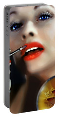 Lovely Lucille Portable Battery Charger by Wbk