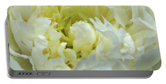 Portable Battery Charger featuring the photograph Lovely Peony by Sandy Keeton
