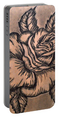 Lovely Rose Portable Battery Charger