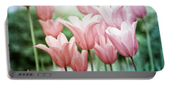 Lovely Tulips Portable Battery Charger