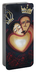 Lovers Embrace Portable Battery Charger