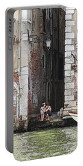 Lovers In Venice Portable Battery Charger