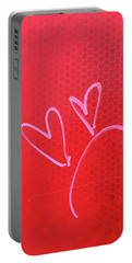 Portable Battery Charger featuring the photograph Love's Disappointments by Art Block Collections