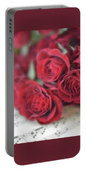Portable Battery Charger featuring the photograph Love's Music by Diane Alexander