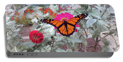 Loving The Zinnias Portable Battery Charger